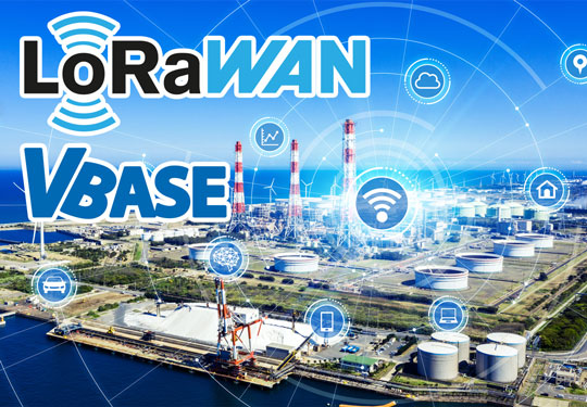 LoRaWAN & VBASE: Automatisierung und Digitalisierung über große Distanzen