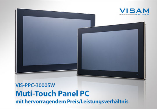 4 new multi-touch panel computers with excellent price/performance ratio