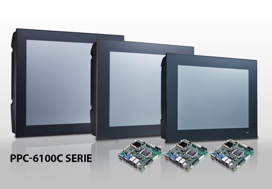 Standardprodukt oder individuell konfigurierter Panel PC? Beim PPC-6100C ist alles möglich.