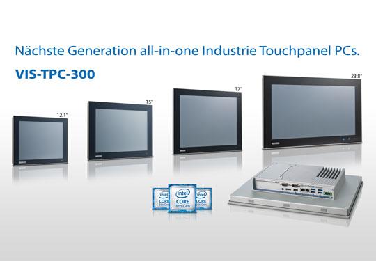 TPC-30099. Die nächste Generation der All-in-One TPC Industrie Touchpanel PCs.