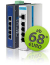 Industrial Ethernet Switches ab 68€, netto.
